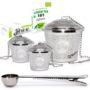 chefast loose leaf tea infuser set